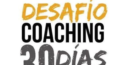 Evento Presencial Desafío Coaching 30 días Mar del Plata entradas