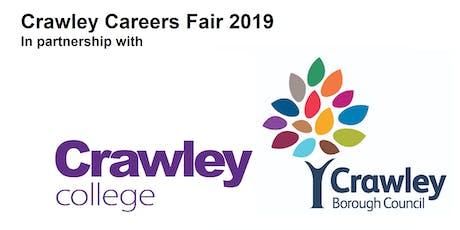 Crawley Careers Fair 2019 tickets