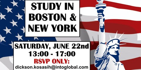 Info Session - Study in Boston & New York tickets