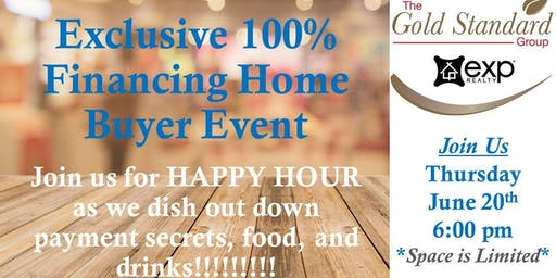 Exclusive 100% Financing Home Buyer Event