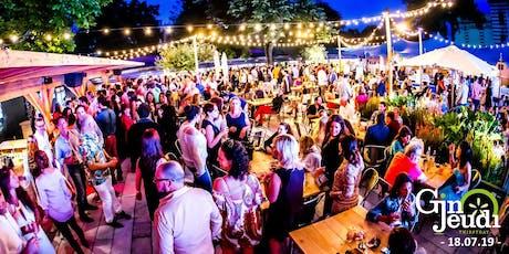 Gin Jeudi Glamorous Afterwork ☼ Summer Edition☼La Terrasse O2 tickets