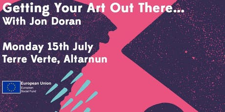 Getting Your Art Out There - with Jon Doran tickets