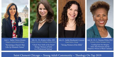 July 16 Theology on Tap 2019- Saint Clement Chicago