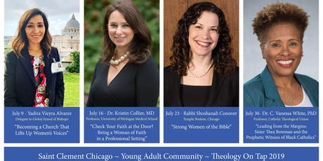 July 16 Theology on Tap 2019- Saint Clement Chicago tickets