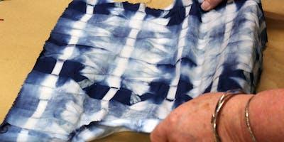 Fabric Tie-Dyeing with Indigo