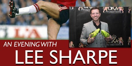 An Evening with Lee Sharpe tickets