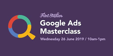 Google Ads Masterclass tickets