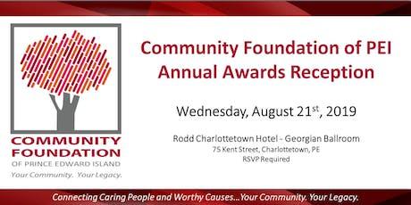Community Foundation of PEI Annual Awards Reception tickets