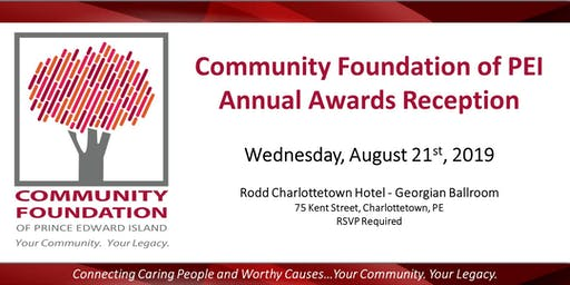 Community Foundation of PEI Annual Awards Reception