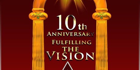 Zerubbabel Chapter #124 - 10th Anniversary: Fulfilling The Vision tickets