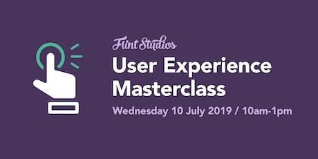 User Experience Masterclass tickets