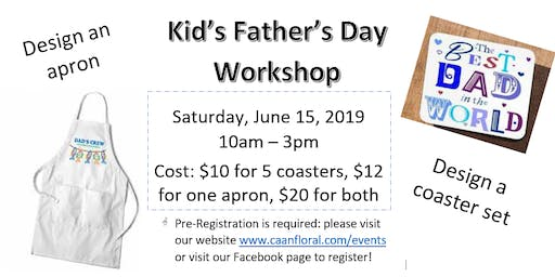 Kids Father's Day Workshop