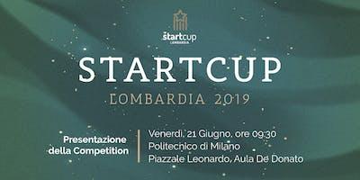 StartCup Lombardia 2019 - Evento di presentazione