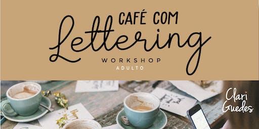 CAFÉ COM LETTERING