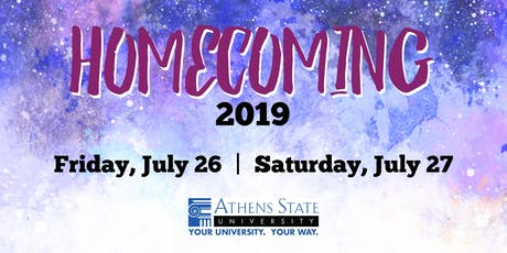 Athens State University - Homecoming 2019 tickets
