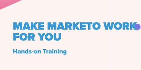 Marketo Hands-On Training - 2 days (£450 + VAT)  tickets