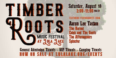 Timber Roots: Music Festival at Lula Lake tickets