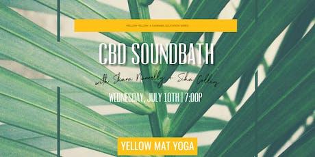 CBD Restorative Sound Bath w/ Shana Nunnelly tickets