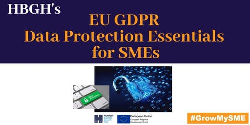EU GDPR Data Protection Essentials for SMEs (Grimsby)