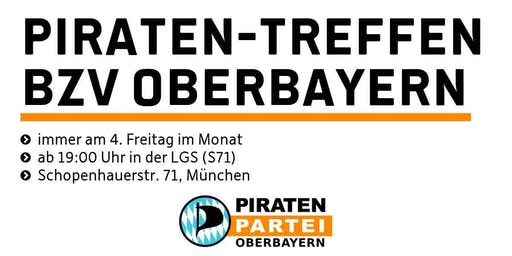 Piraten-Treffen Oberbayern