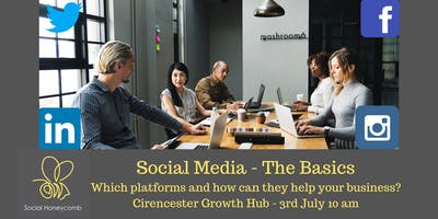 Social Media - The Basics. Which platforms to choose and how can they help your business?