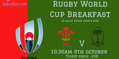 Wales v Fiji RWC Breakfast