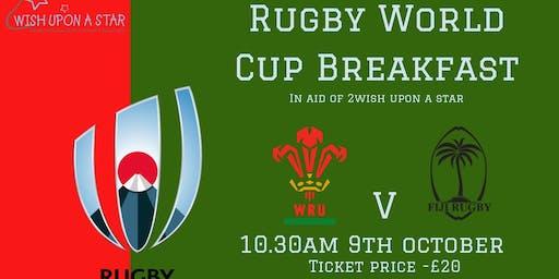 Wales v Fiji RWC Breakfast