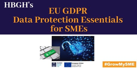 EU GDPR Data Protection Essentials for SMEs (Hull) tickets