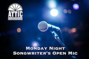 Eddie's Attic Songwriter's Open Mic