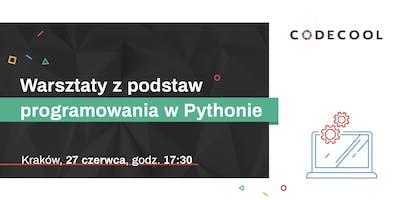 Warsztaty z podstaw programowania w Pythonie - Kraków 27.06.2019