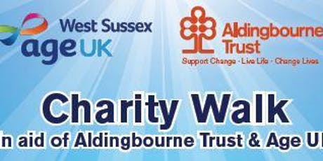 Age UK Charity Walk - Littlehampton to Bognor Regis with Aldingbourne Trust tickets