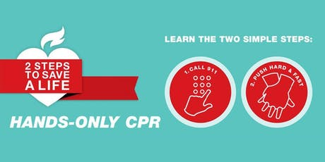 Free Hands-Only CPR Training Courses tickets