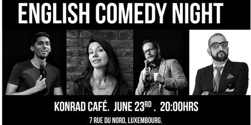 English Comedy Night at Konrad