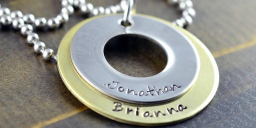Adult Craft: Stamped Jewelry