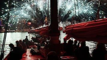 Fireworks Sail on Adirondack III