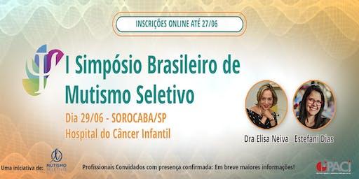 I Simpósio Brasileiro de Mutismo Seletivo