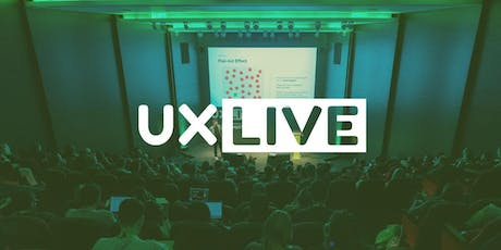 UX LIVE 2019 tickets
