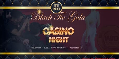 Women in Defense 11th Annual Black Tie Gala - Casino Night  tickets