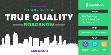 The True Quality Roadshow - San Diego tickets