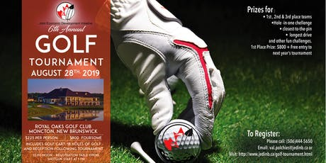 JEDI's 6th Annual Golf Tournament tickets