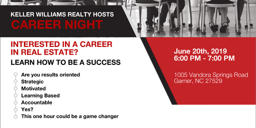 Career Night - June 20th