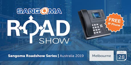 Sangoma Australia Roadshow Series 2019 - Melbourne tickets