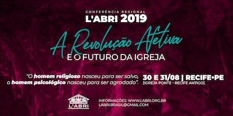 Conferência Regional L'Abri Brasil 2019 - Edição Recife ingressos