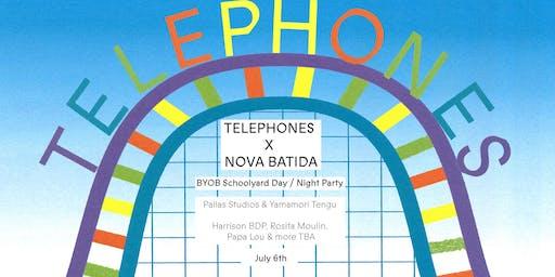 Telephones x Nova Batida: BYOB Schoolyard Day Party + Night w. Harrison BDP & more