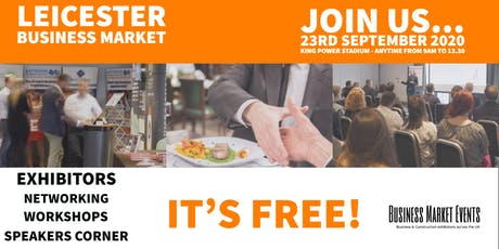 Leicester Business Market 2 tickets