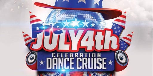 Red White & Blue Dance Party Cruise NYC July 4th Weekend NYC