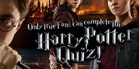 Harry Potter Quiz tickets