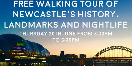 Free Walking Tour of Newcastle - Your New Home tickets