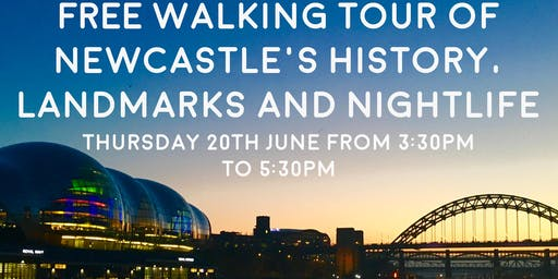 Free Walking Tour of Newcastle - Your New Home