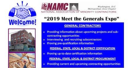 2019 Meet the Generals Expo tickets
